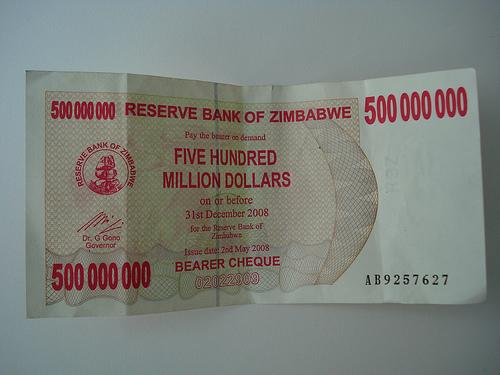 Zimbabwedollars