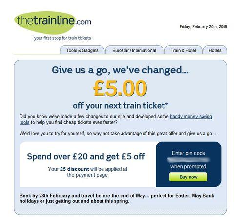 Trainline_Emailoffer